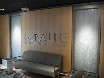 How Can a Company Logo Enhance your Lobby or Reception Area?